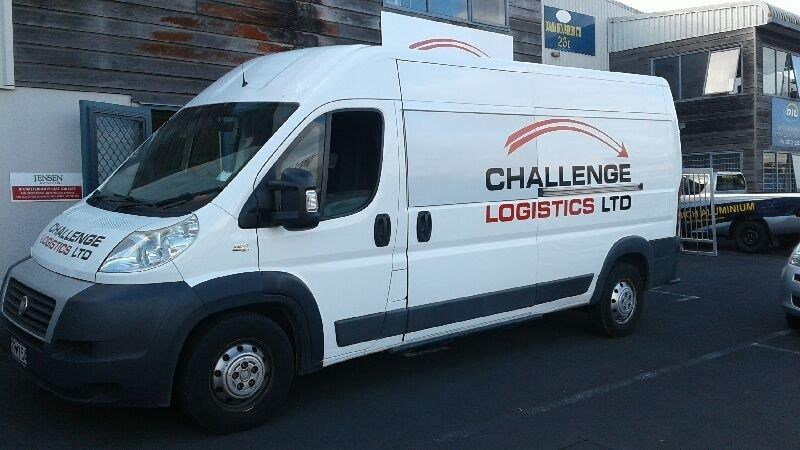 Challenge Logistic Van Side View