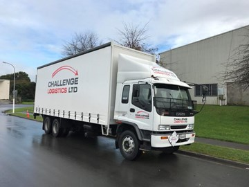 Challenge Logistic Truck Outside Side
